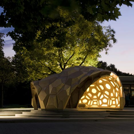 Architecture param trique references pavillons en bois for Architecture parametrique